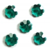Swarovski Sew-on 3700 Flower mm 6 Emerald